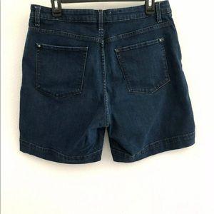 Lee Shorts - Lee Platinum sz 14 petite shorts stretch denim